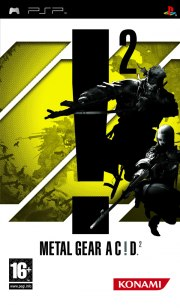 Carátula de Metal Gear Acid 2 - PSP
