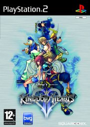 Carátula de Kingdom Hearts II - PS2