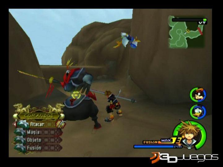 Imagenes De Kingdom Hearts Ii Para Ps2 3djuegos