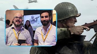 Video Call of Duty WW2, Impresiones Gamescom 2017