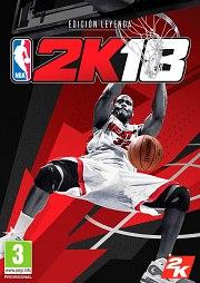 Carátula de NBA 2K18 - Nintendo Switch