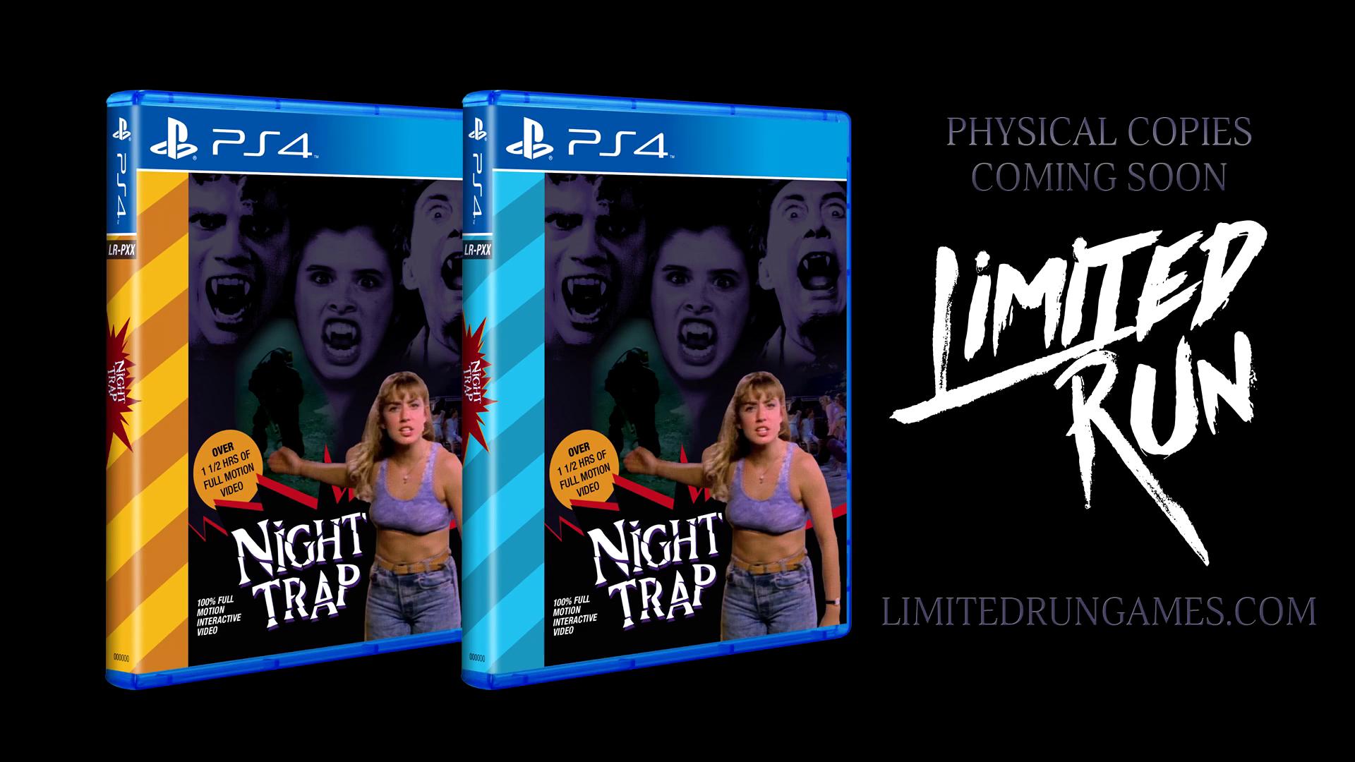El clásico Night Trap será remasterizado en PS4 y Xbox One