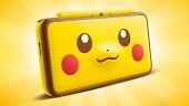 La New 2DS XL Edición Pikachu llegará a Europa con Pokémon Cristal