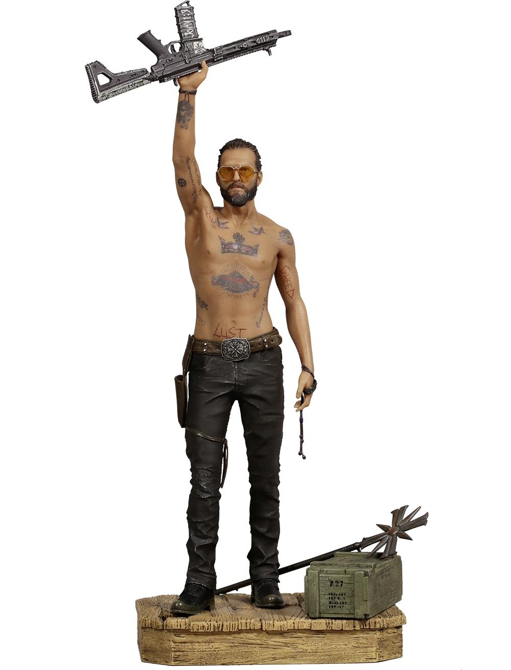 Far Cry 5 presenta una imponente estatua de Joseph Seed: su villano