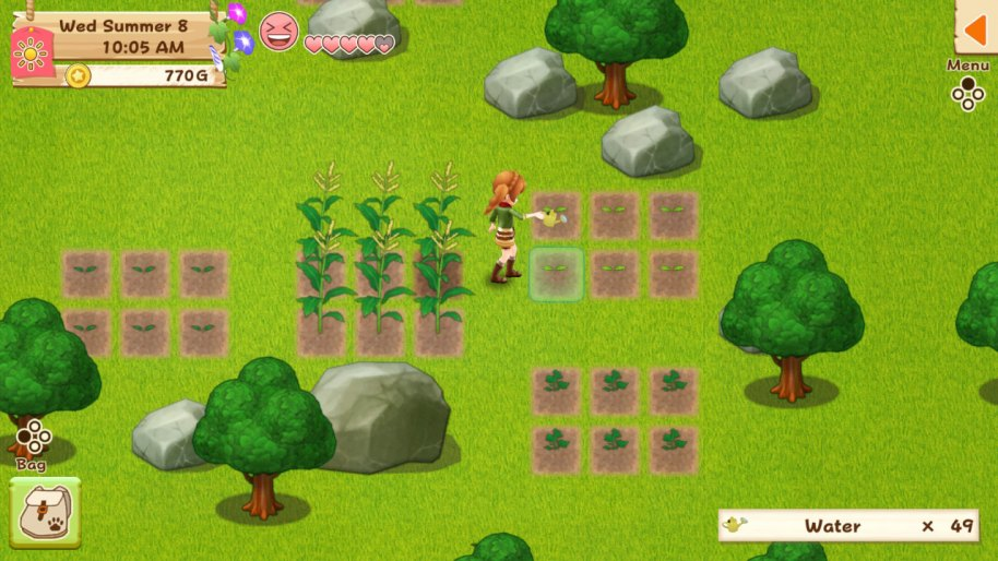 Harvest Moon Light of Hope PS4