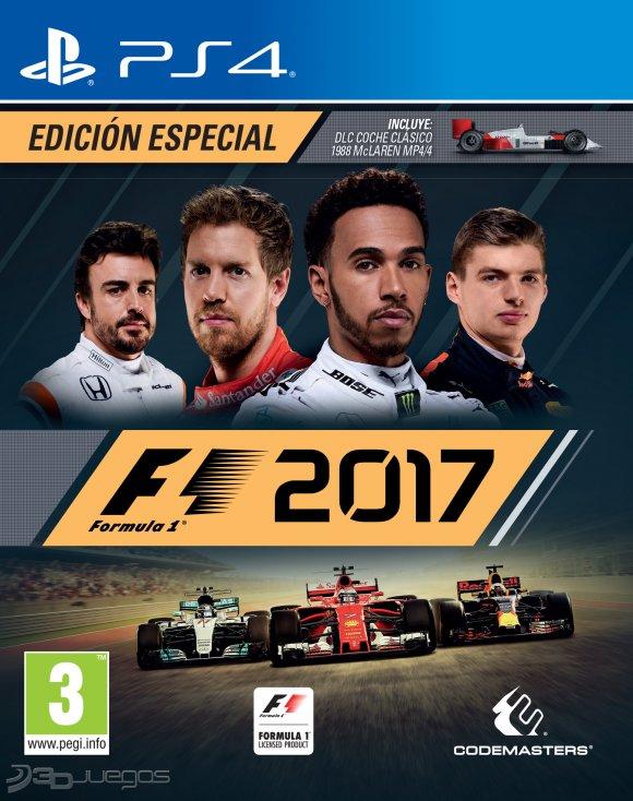 F1 2017 Para Ps4 3djuegos