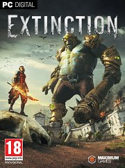 Carátula de Extinction - PC