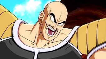 ¡Kappa! Así lucha el poderoso Nappa en Dragon Ball Fighter Z
