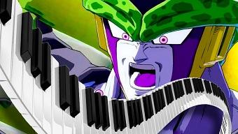 Así se juega a Dragon Ball Fighter Z con un piano
