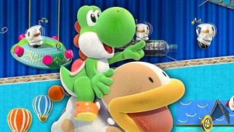 Yoshi's Crafted World, un giro a la clásica jugabilidad de Yoshi en Switch