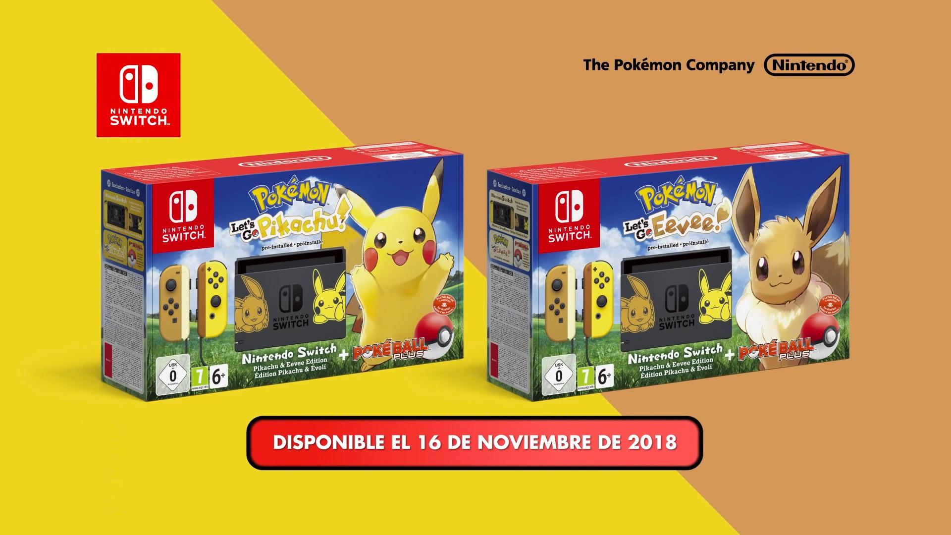 Gana Una Nintendo Switch Edicion Pikachu E Eevee Con 3djuegos 3djuegos
