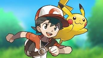 Pokemon: Let's Go, Pikachu! y su Pokéball en el E3