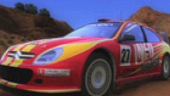 """Sega Rally: Escenario """"Canyon"""""""