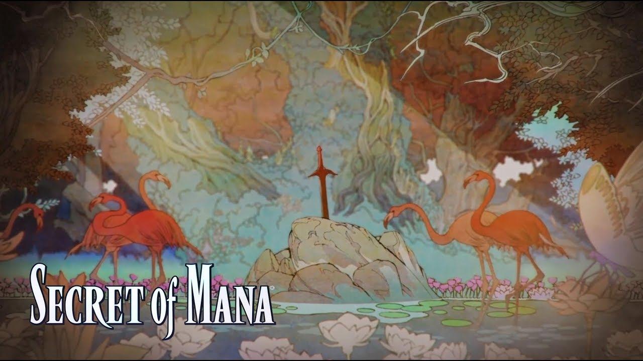Secret of Mana 3D deja ver su nueva cinemática de introducción
