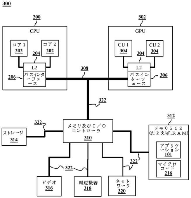 Una de las imágenes de diseño del sistema de retrocompatibilidad ideado por Mark Cerny.