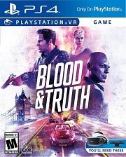 Carátula de Blood & Truth - PS4