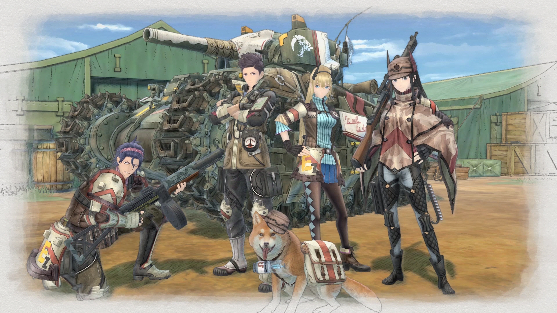 Ya disponible la demo de Valkyria Chronicles 4 con textos en castellano
