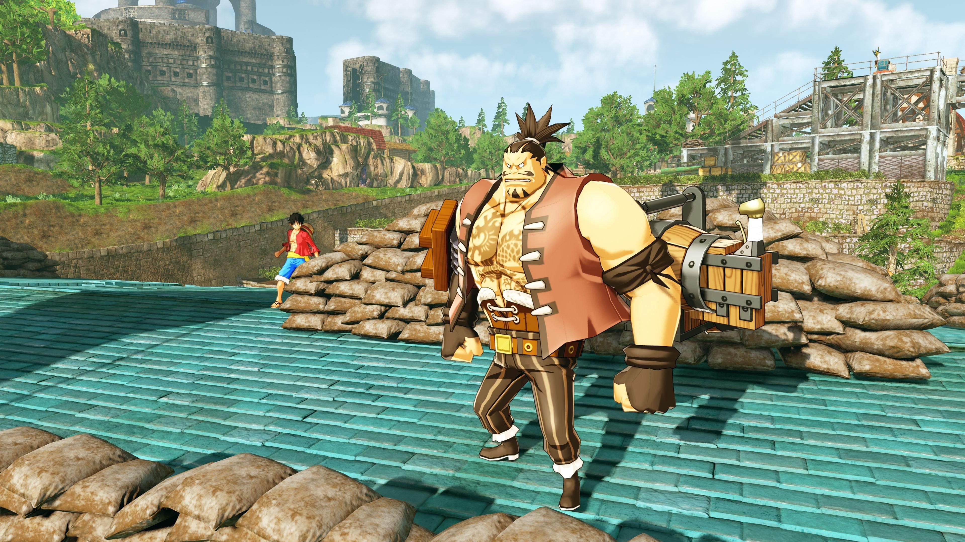 Bandai namco presenta abundantes capturas de one piece for One piece juego