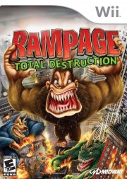 Carátula de Rampage: Total Destruction - Wii