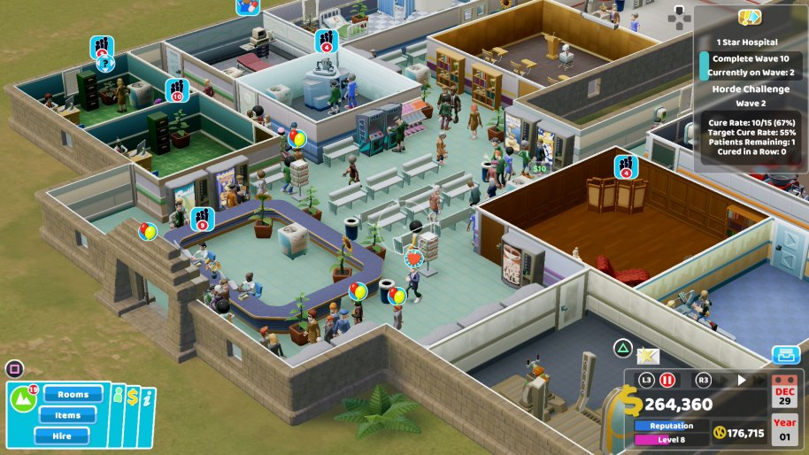 Two Point Hospital Nintendo Switch