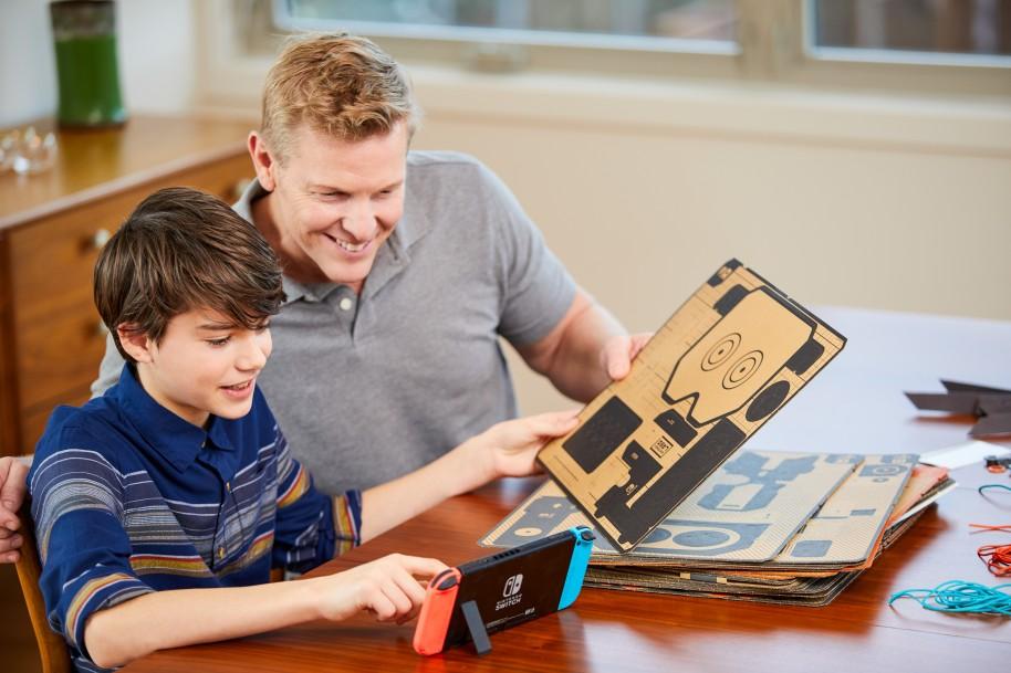 Nintendo Labo: Así es Nintendo Labo: los juguetes de cartón conquistan Switch