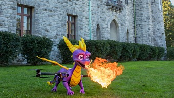 Con un dron parlanchín se celebra la llegada de Spyro: Reignited Trilogy