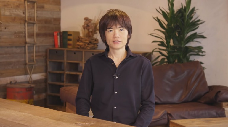 Masahiro Sakurai.
