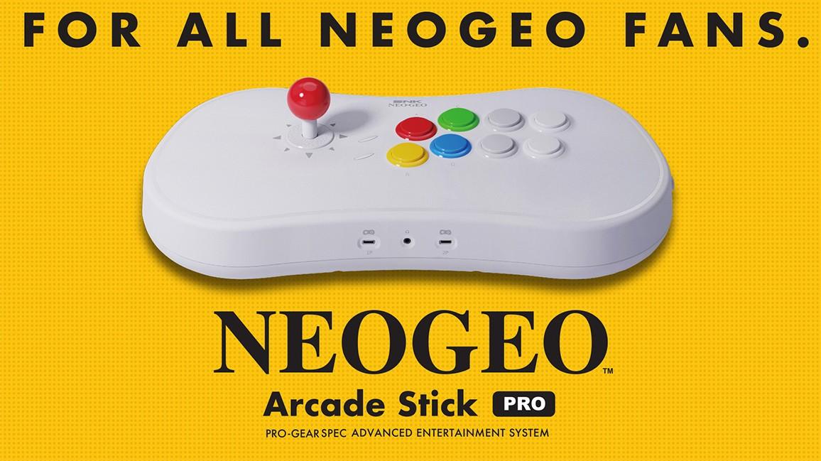 NeoGeo Arcade Stick Pro tendrá 20 juegos de lucha preinstalados; nuevos detalles