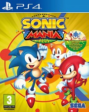 Carátula de Sonic Mania Plus - Nintendo Switch