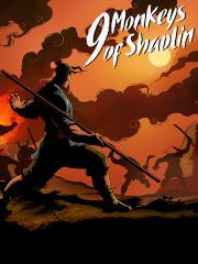 Carátula de 9 Monkeys of Shaolin - PS4