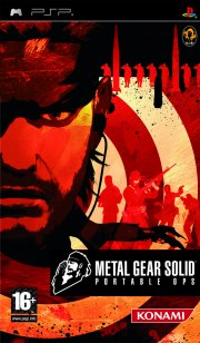 Carátula de Metal Gear Solid: Portable Ops - PSP