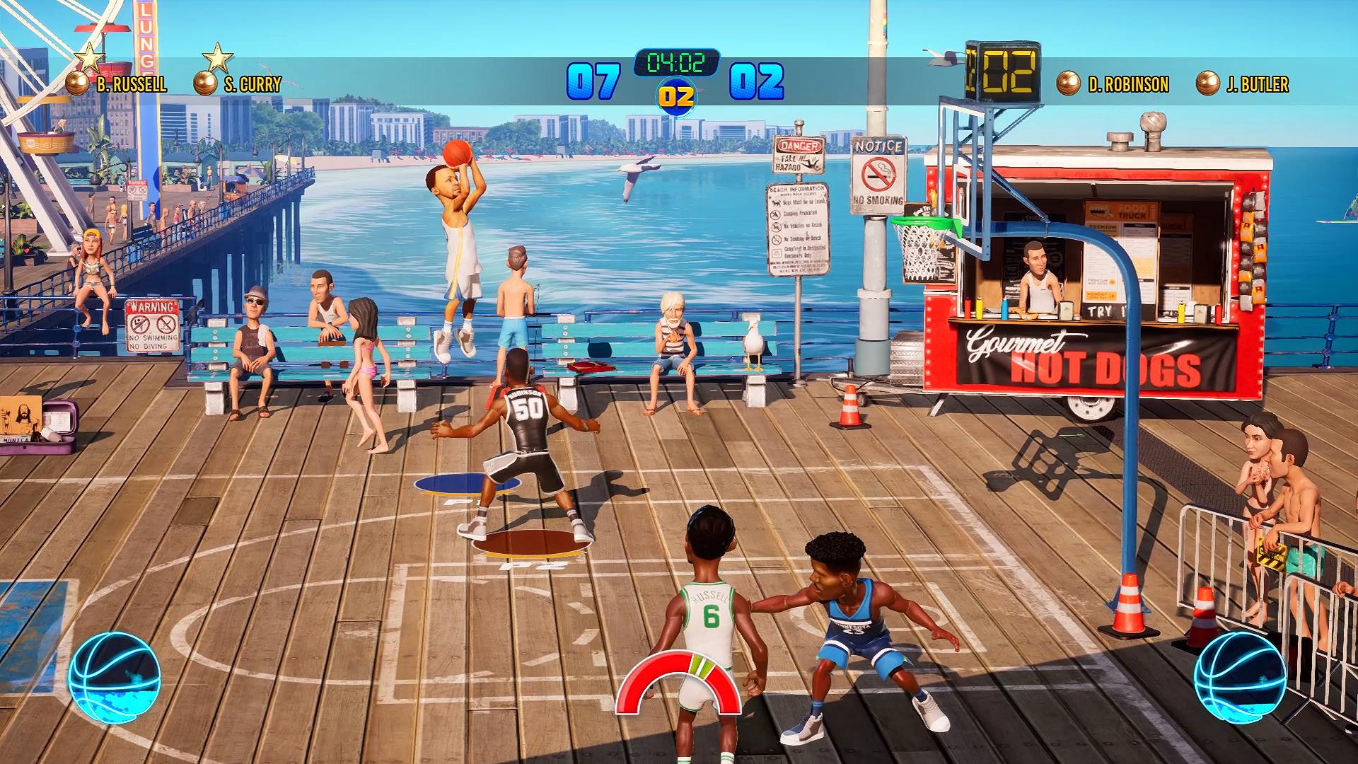 2K anuncia que editará el arcade NBA Playgrounds 2