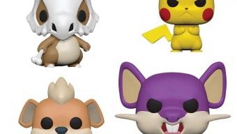 Funko Pop anuncia cuatro nuevas figuras inspiradas en Pokémon