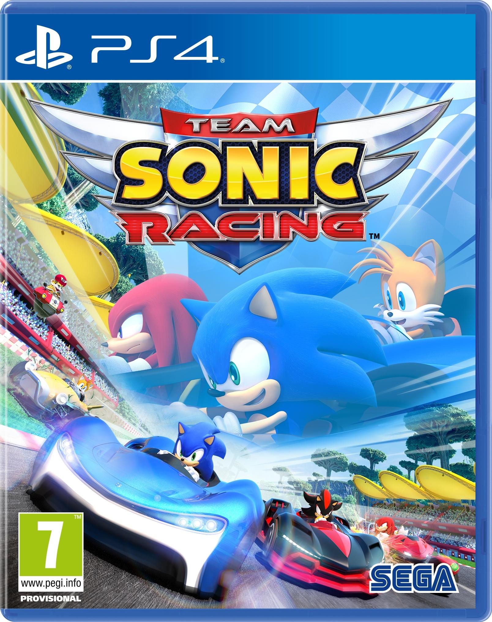 Team Sonic Racing anunciado oficialmente para PC y consolas
