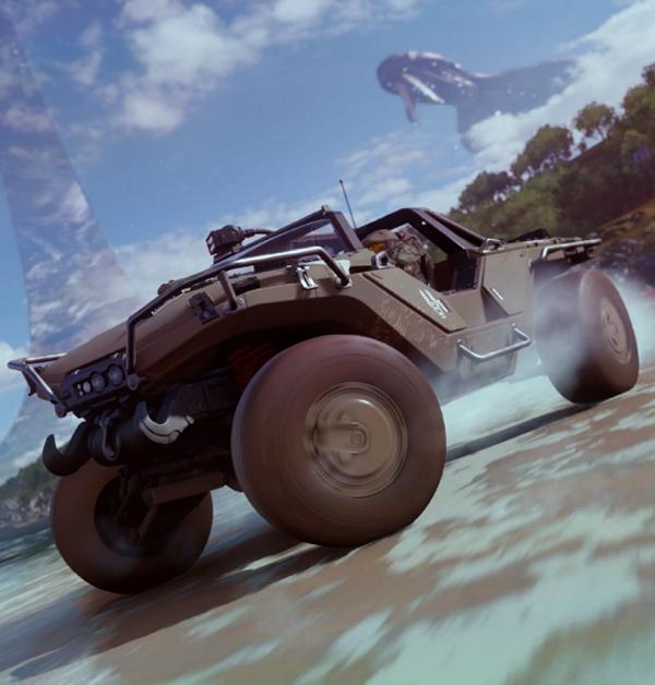 Forza Horizon 4 tendrá una nueva colaboración con la franquicia Halo