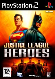 Carátula de Justice League Heroes - PS2