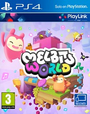 Carátula de Melbits World - PS4