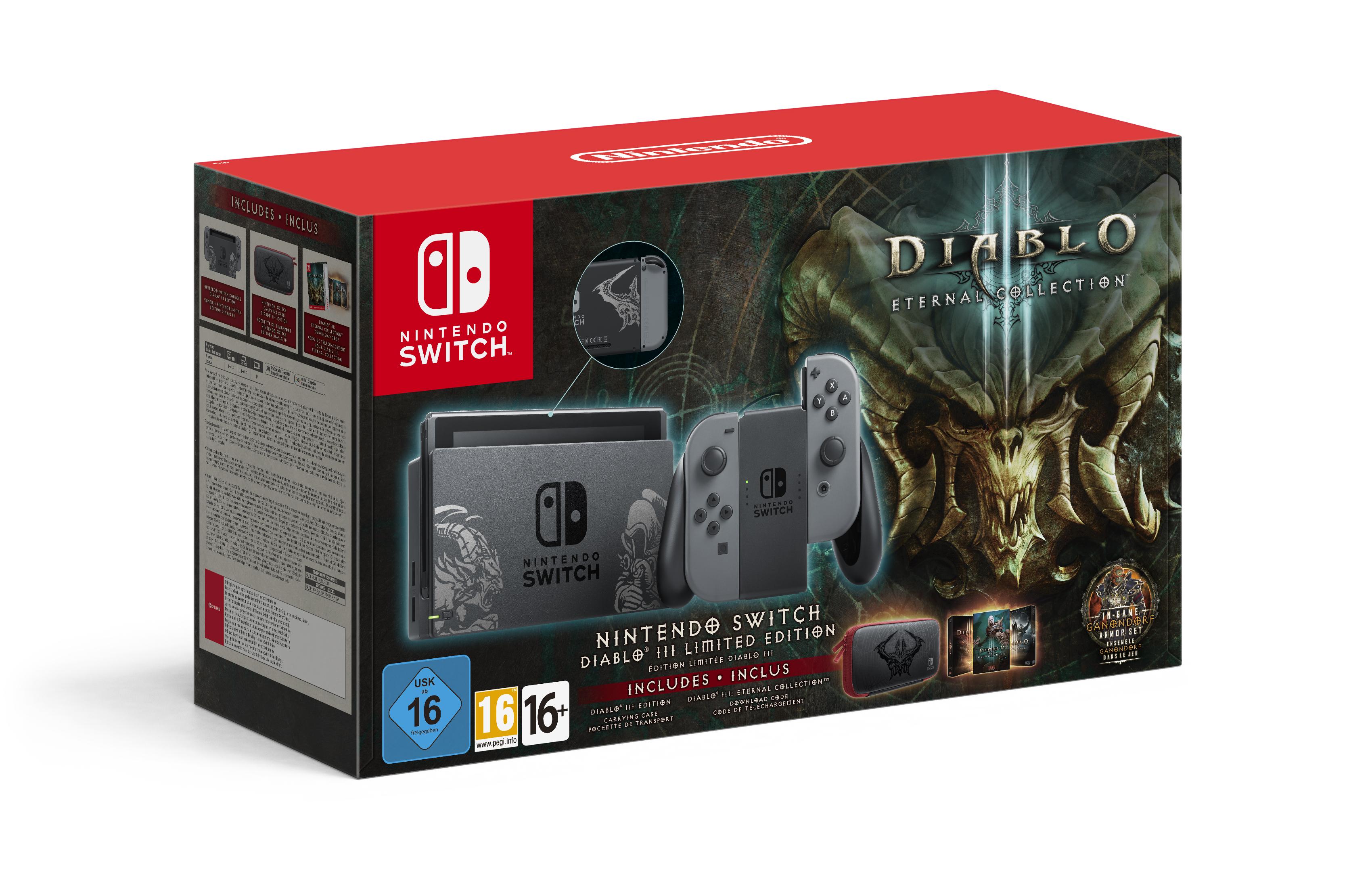 Diablo III se muestra en sus primeros 15 minutos en Nintendo Switch