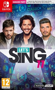 Carátula de Let's Sing 11 - Nintendo Switch