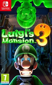 Carátula de Luigi's Mansion 3 - Nintendo Switch
