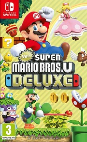 Carátula de New Super Mario Bros. U Deluxe - Nintendo Switch