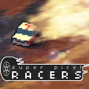 Carátula de Super Pixel Racers - PS4