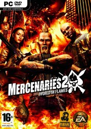 Carátula de Mercenaries 2 - PC