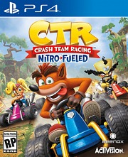 Carátula de Crash Team Racing Nitro-Fueled - PS4