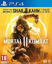 Carátula de Mortal Kombat 11 - PS4