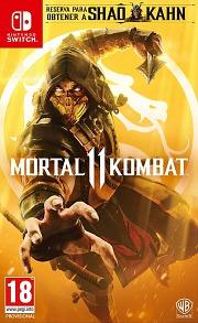 Carátula de Mortal Kombat 11 - Nintendo Switch