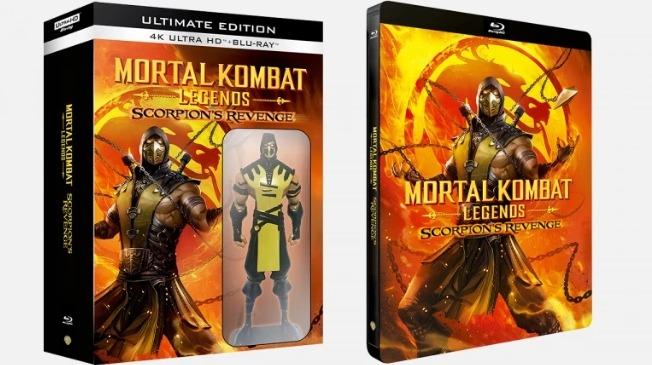 The Movie Mortal Kombat Legends Scorpion S Revenge Date Its