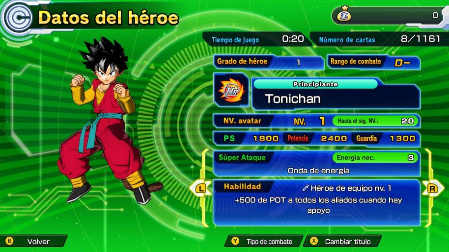 Super Dragon Ball Heroes World Nintendo Switch