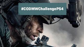 ¡Primer desafío #CODMWChallengePS4 con Call of Duty y PS4!