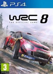 Carátula de WRC 8 - PS4